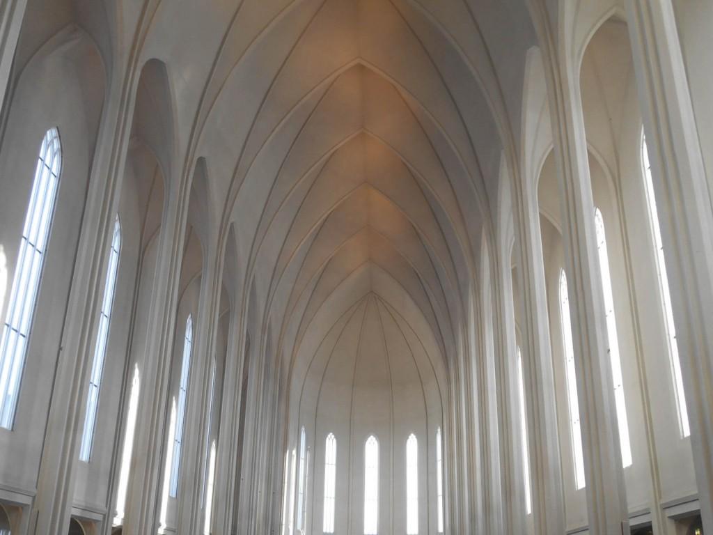 Intérieur de Hallgrímskirkja