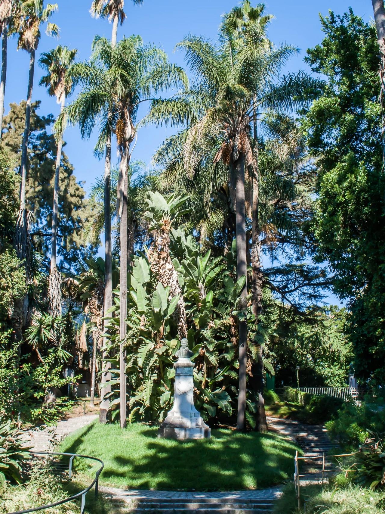 jardin botanique lisbonne