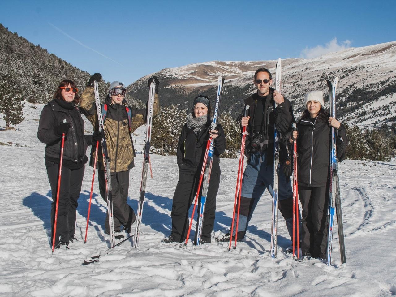 Grandvalira motoneige et ski de fond