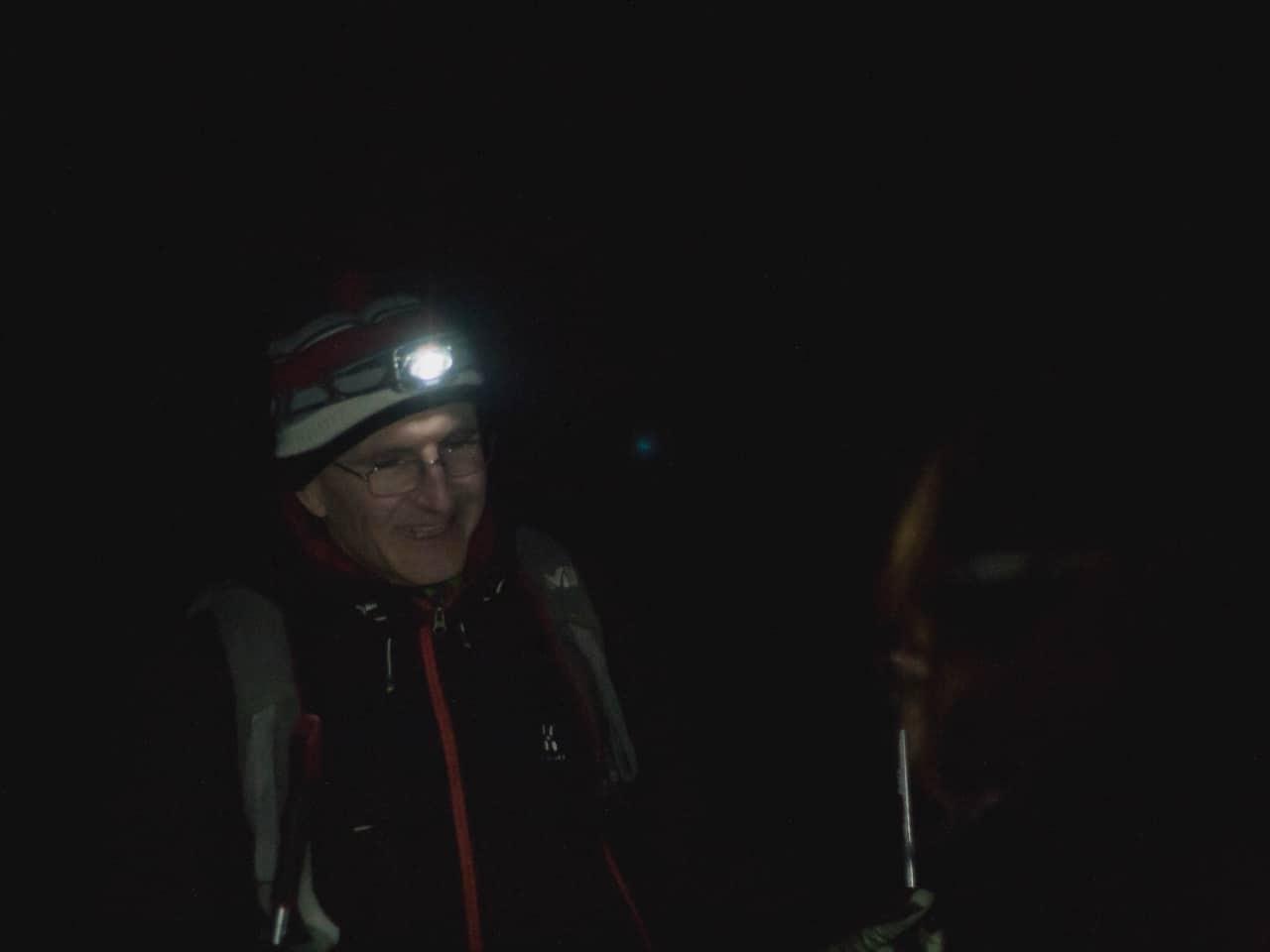 Raquettes de nuit dans le parc de Sorteny