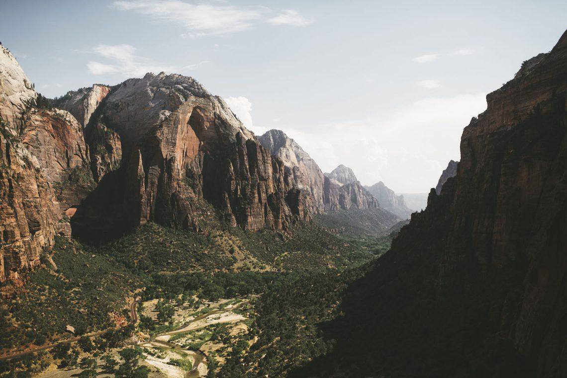 Un cercle - Road trip ouest américain - parc national zion