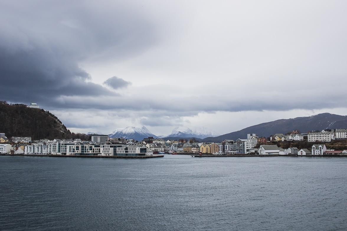 alesund norvege express cotier hurtigruten