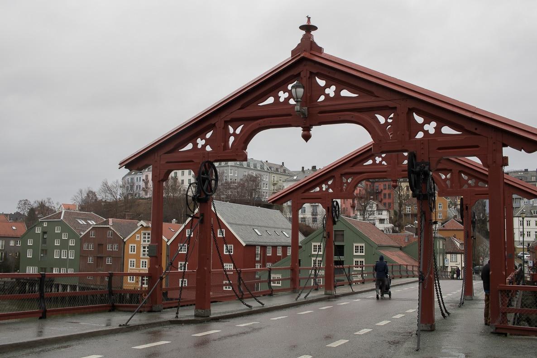 trondheim norvege express cotier hurtigruten