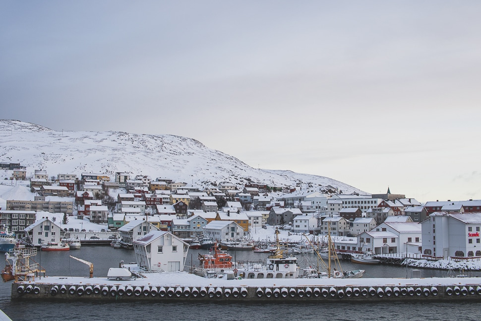 norvege hurtigruten cap nord
