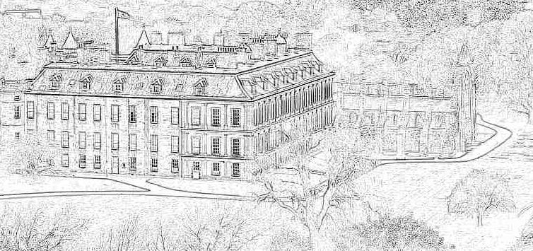 illustration Edimbourg