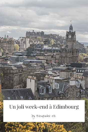 weekend edimbourg pinterest
