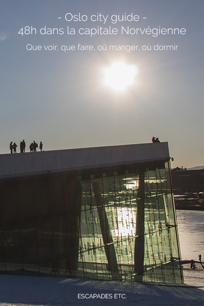 norvege oslo city guide 48h