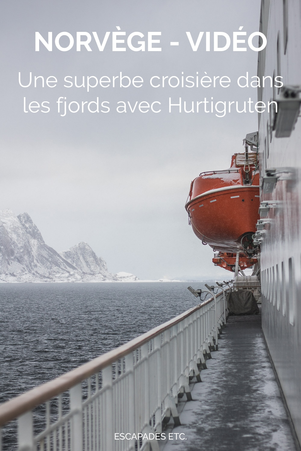 croisiere norvege video