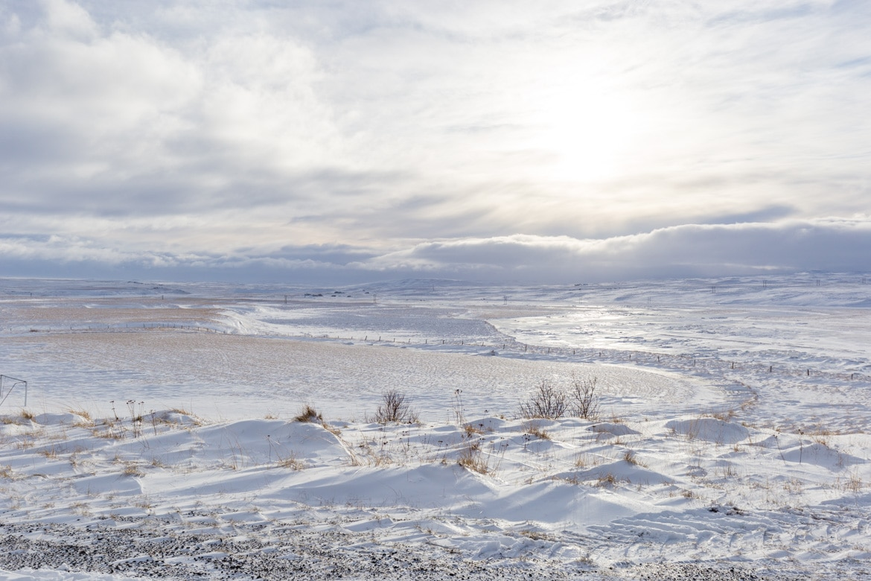 road trip hivernal en islande paysage islandais