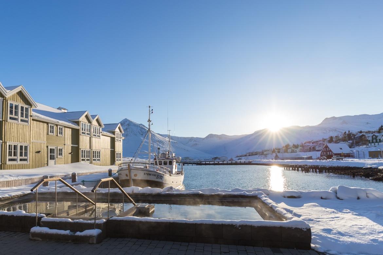 road trip hivernal en islande siglufjordur