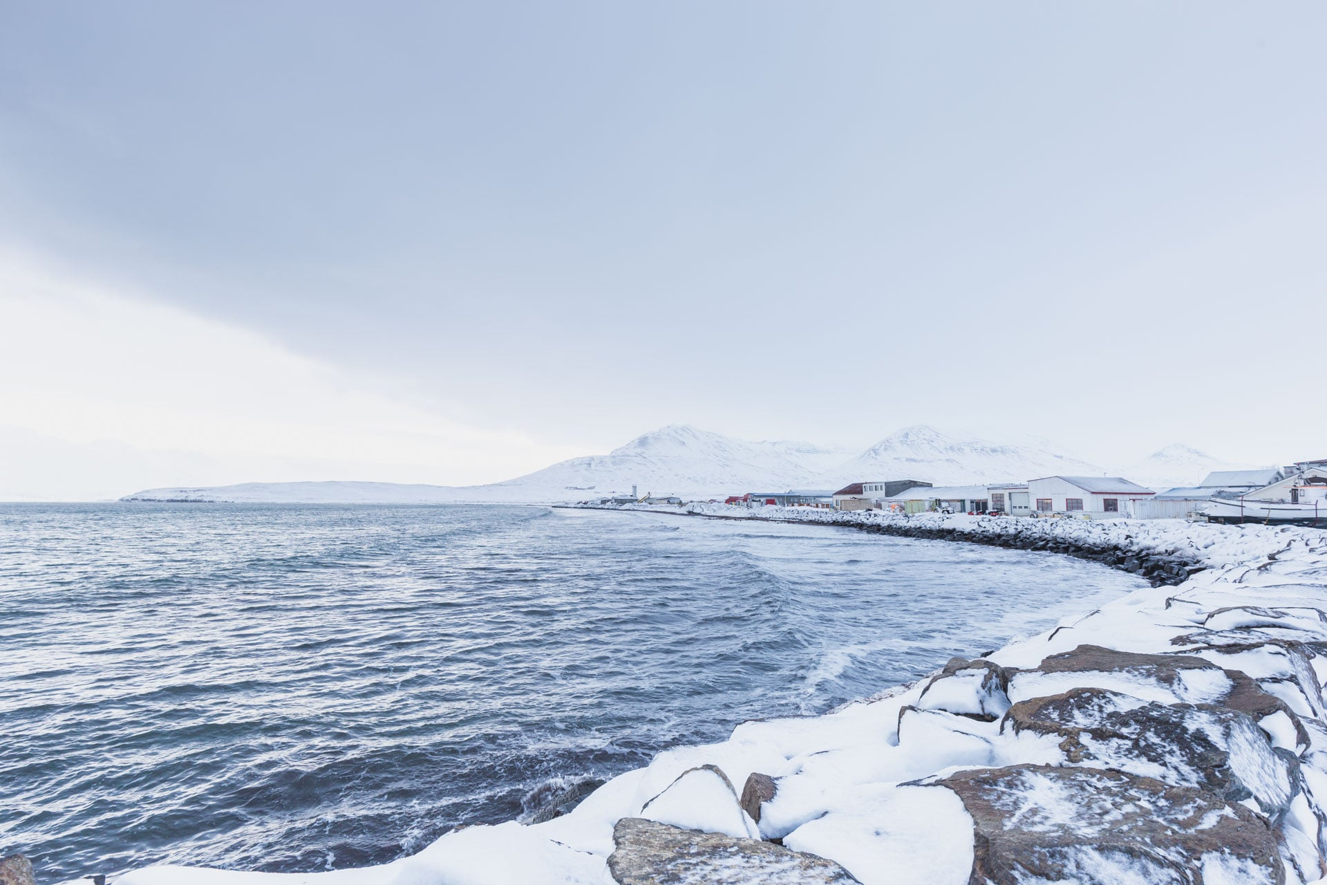 islande roadtrip hivernal Dalvik