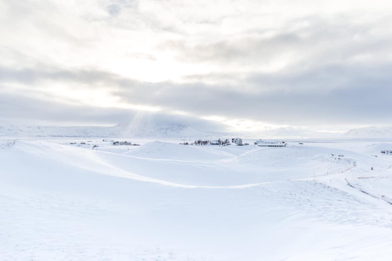 islande roadtrip hivernal lac myvatn pseudo-cratères