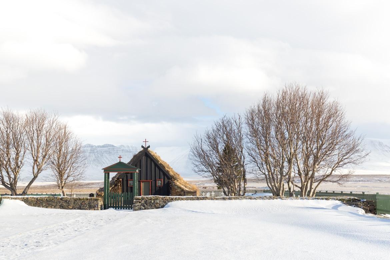islande roadtrip hivernal Vidimyrarkirkja