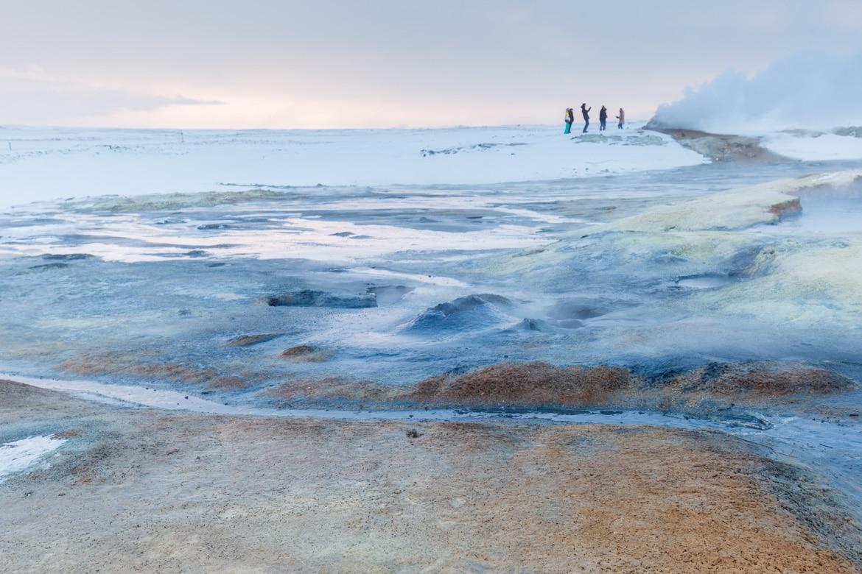 islande roadtrip hivernal lac myvatn Hverir