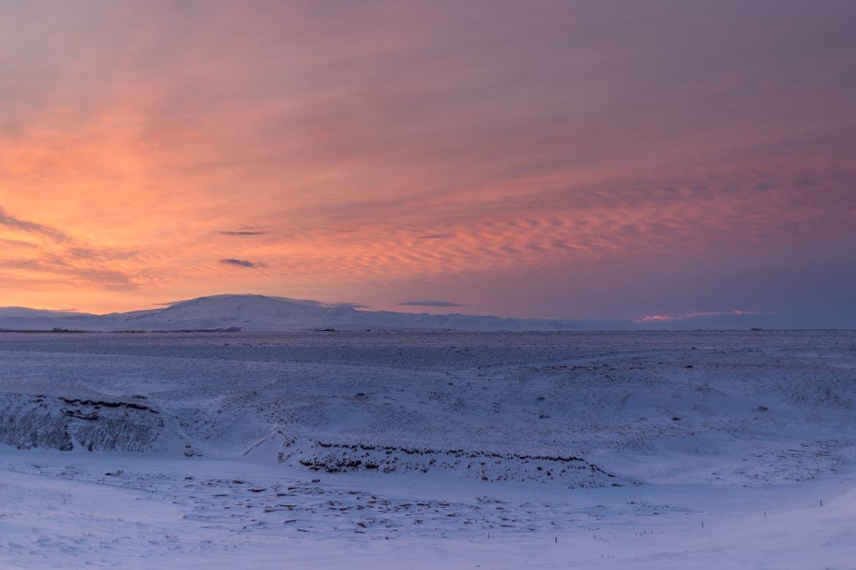 roadtrip hivernal sud islande fagrabrekka guesthouse