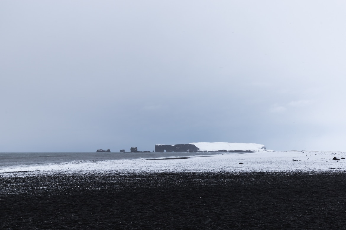 roadtrip hivernal sud islande Reynisfjara beach