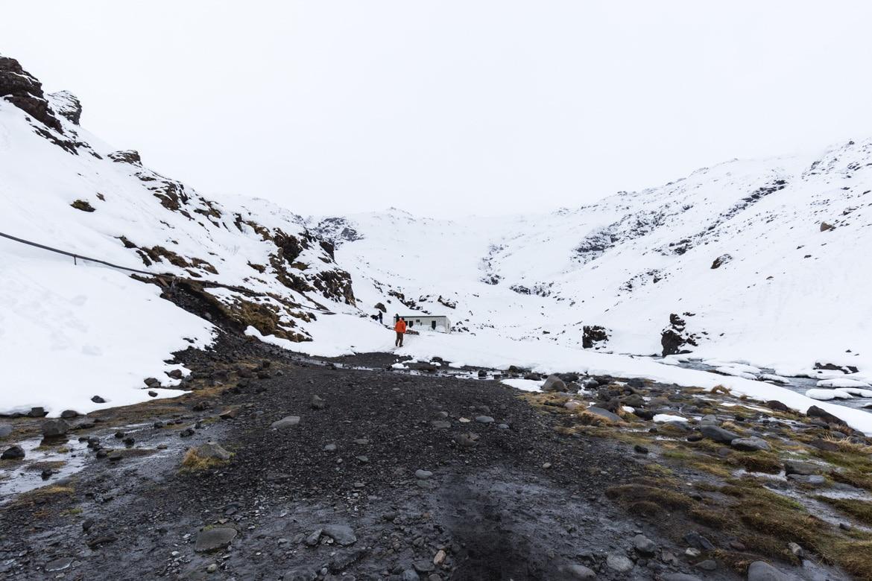 roadtrip hivernal sud islande piscine Seljavallalaug