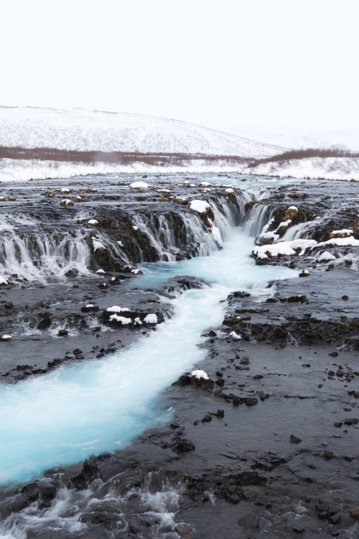 roadtrip hivernal sud islande bruarfoss
