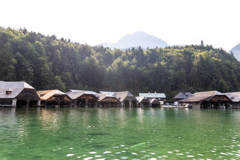 road trip alpes bavaroises autrichiennes lac Königssee