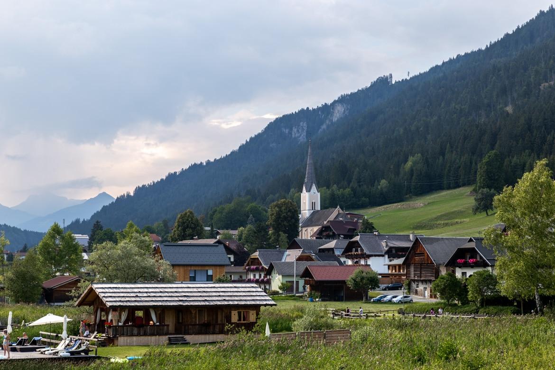 road trip alpes bavaroises autrichiennes lac Weissensee