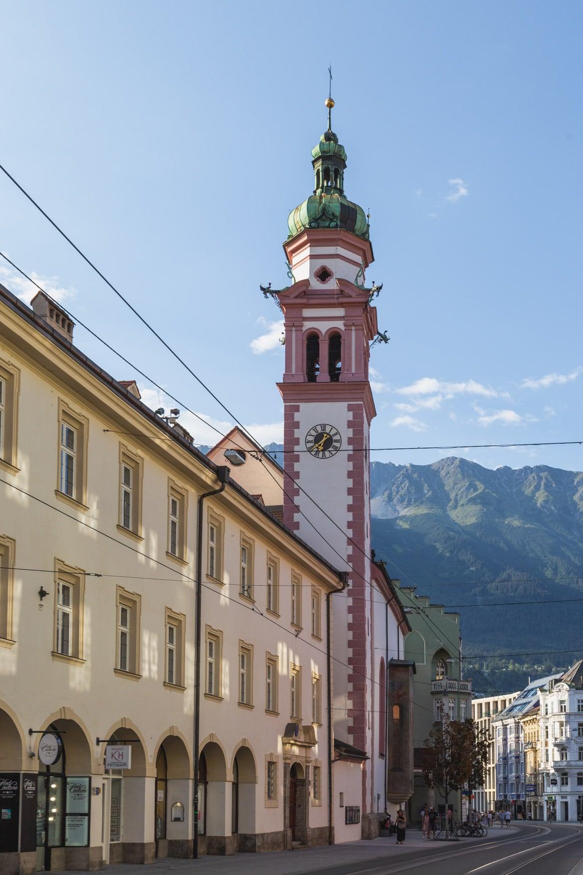 road trip alpes bavaroises autrichiennes Innsbruck