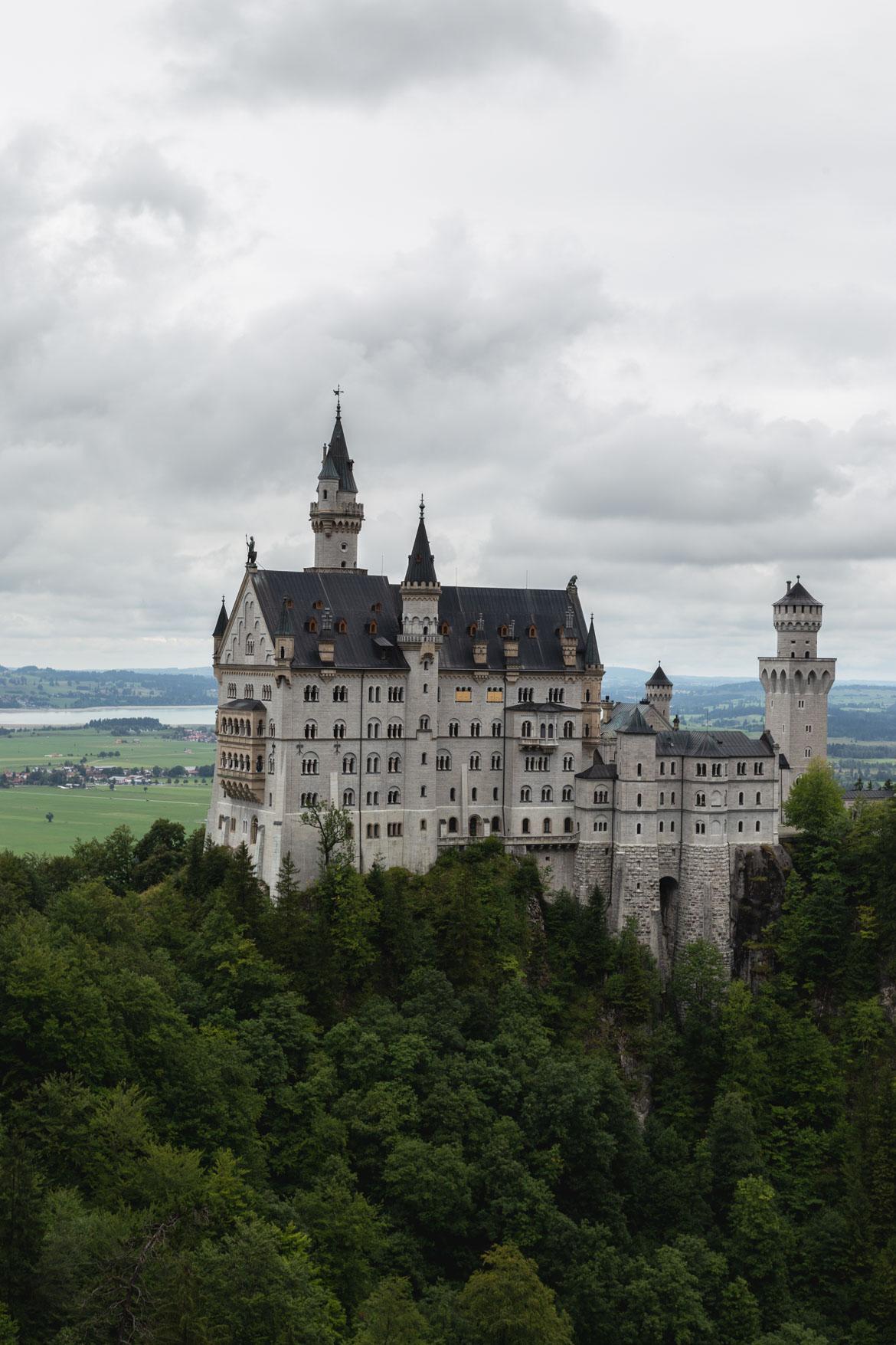 road trip alpes bavaroises autrichiennes chateau neuschwanstein