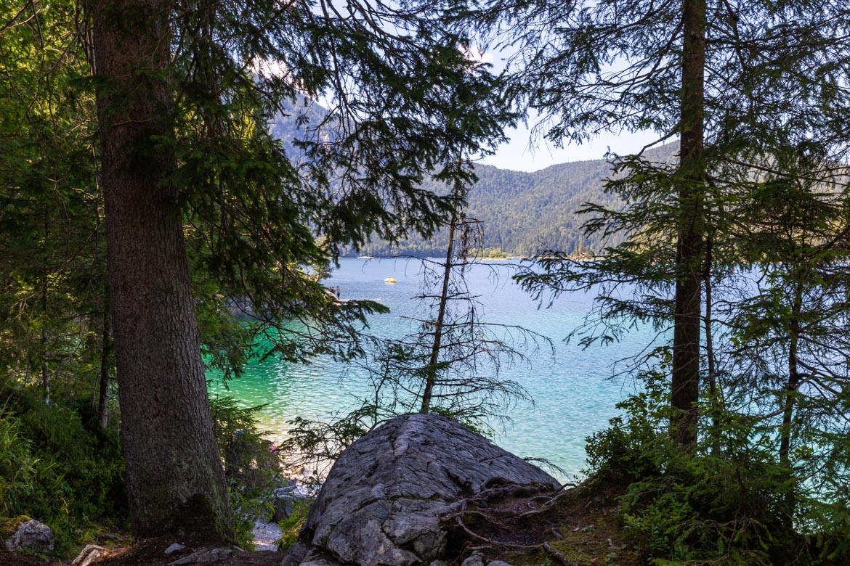 road trip alpes bavaroises autrichiennes Eibsee